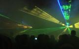 Efektowny pokaz laserów z okazji Święta Miasta