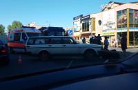 Wypadek przy Tesco na Cisowej