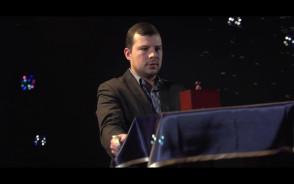 Iluzjonista Tomasz Jusza