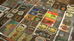 Zbiera piwne etykiety z całego świata