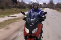 Test skutera Yamaha 250
