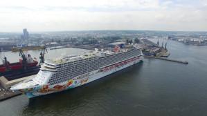 Norwegian Getaway - największy wycieczkowiec w Gdyni