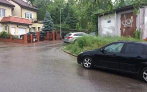 Letni deszcz przeszedł nad Trójmiastem