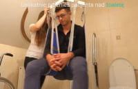Levicare Q140-Przesiadania z wózka na toaletę