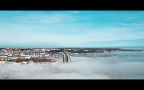 Gdańsk, Gdynia, Sopot oraz Hel z lotu ptaka