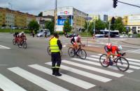 Przejazd kolarzy przez Gdynię