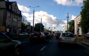 W kierunku Gdyni zator od Klifu
