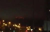 Dziwne światła nad Gdańskiem