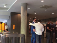 Dominik Midak, nowy większościowy akcjonariusz Arki na stadionie w Gdyni