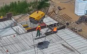 Zaobserwowane na budowie osiedla w Gdańsku