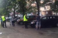 Interwencja strażników miejskich na Władysława IV w Gdyni