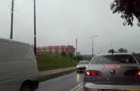 Korki w obie strony na ulicy Oliwskiej