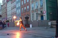 Fireshow na Długiej