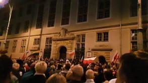 Łańcuch świateł 21 lipca Gdańsk