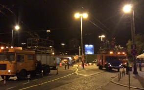 Dziś w nocy trolejbusy jeździły bez podłączenia do trakcji
