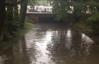 Stan wody w Kanale Raduni w centrum Gdańska