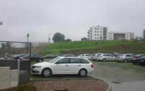 Podlewanie trawnika w deszczu