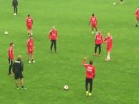 FC Midtjylland na treningu w Gdyni