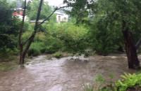 Rzeka Kacza deszcz 26.07.2017