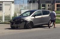 Kolizja dwóch aut na ul. Łódzkiej na Ujeścisku