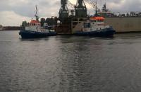 Suchy dok w stoczni Nauta w Gdyni