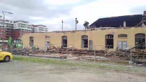 Osiedle Garnizon - znika budynek, będzie droga