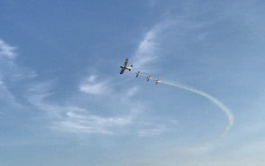 Ćwiczenia samolotów w Gdyni przed AeroBaltic
