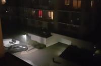 Burza w dzielnicy Aniołki