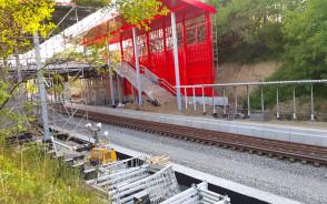 Budowa przystanku KM Gdynia Karwiny 15.08.2017r część 1`