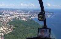 Zobacz Gdynię z pokładu śmigłowca