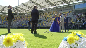 Pobrali się na gdyńskim stadionie