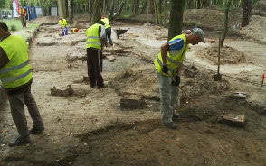Wykopaliska na Westerplatte