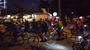 Nocny przejazd rowerowy