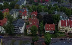 Gdańsk Aniołki z drona