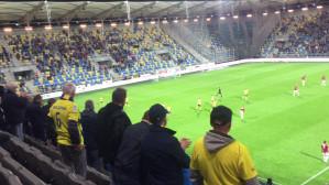 Radość po golu Arki Gdynia na 2:1 w meczu z Wisłą Kraków