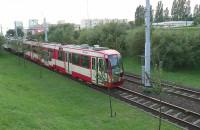 Przejazd tramwaju w Gdańsku