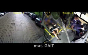 Zawiózł autobusem do szpitala nieprzytomną pasażerkę