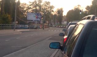 Korek na Trakcie w kierunku Pruszcza Gdańskiego