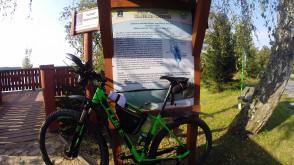 Szlak rowerowy dookoła jezior Wdzydzkich