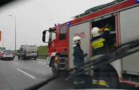 Na S7 korek na 10 minut przed Straszynem
