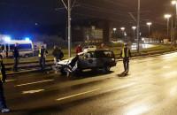 Skutki wypadku na Podwalu Przedmiejskim