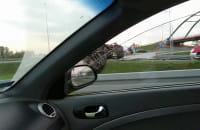 Przewrócona ciężarówka w Koszwałach