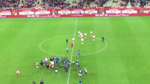Koniec meczu. Polska - Meksyk 0:1