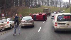 Wypadek na estakadzie Kwiatkowskiego
