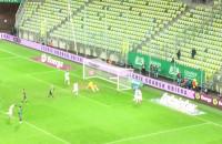 Flavio Paixao na 2:0 w meczu Lechia - Śląsk