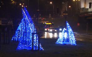 Iluminacje w północnych dzielnicach Gdyni