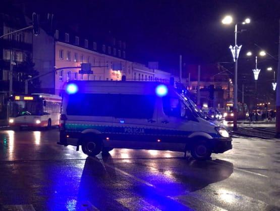 Korek na skutek demonstracji w Gdańsku