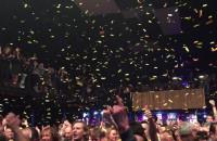 Konfetti podczas koncertu T.Love