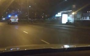 Akcja policji na al. Havla w Gdańsku