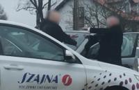 Szamotanina kierowców w Baninie